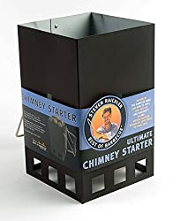 Steven Raichlen Best of Barbecue Ultimate Chimney Charcoal Starter