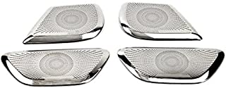 Stainless Steel Interior Door Speaker Cover Trim 4PCS for Mercedes Benz Vito W447 2014-2019