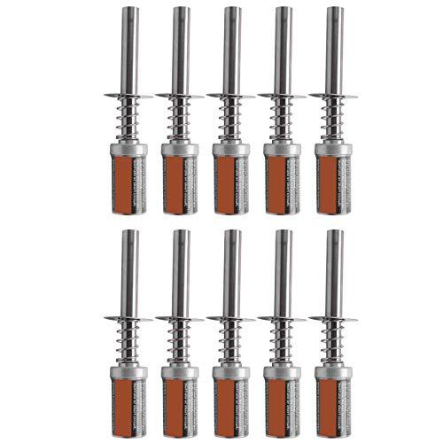 LilyJudy 10 Piezas para HSP 80101 1800MAh 1.2V Encendedor de BujíA Incandescente Adecuado para RC Coche 1/8 1/10 HSP 80101 Encendedor de Luz Recargable Recargable, No Cargador