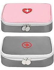 Zuzer Medische noodtas, opbergtas voor medische doeleinden, leeg, EHBO-set, voor camping, outdoor-reizen