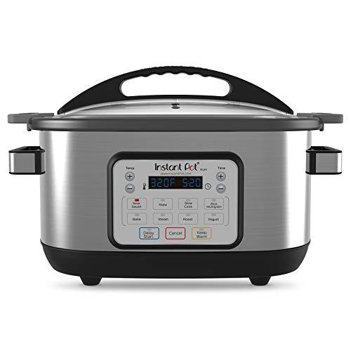Instant Pot 6 Qt Aura Multi Use Programmable Multicooker, Silver