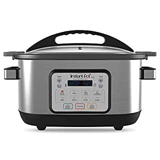 Instant Pot Aura 10-in-1 Multicooker Slow Cooker, 10 One-Touch Programs, 6 Qt, Silver (AURA 6Qt) (B07GB3FNNV) | Amazon price tracker / tracking, Amazon price history charts, Amazon price watches, Amazon price drop alerts