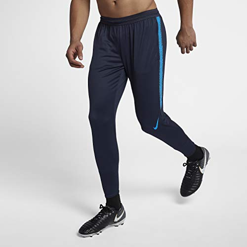 Nike Herren Flex Strike Trainingshose, Obsidian/Blue Hero/(Blue Hero), FR : L (Taille Fabricant : L)