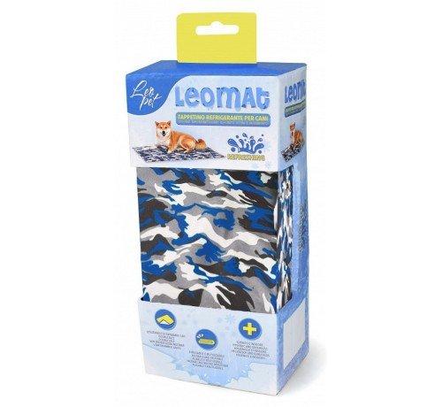 Leomat Tappetino Refrigerante Camouflage per Cani da 50 x 40 cm S