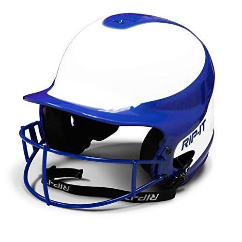 Rip-It Vision Pro Away Softball Batting Helmet (Away Royal, Small/Medium)