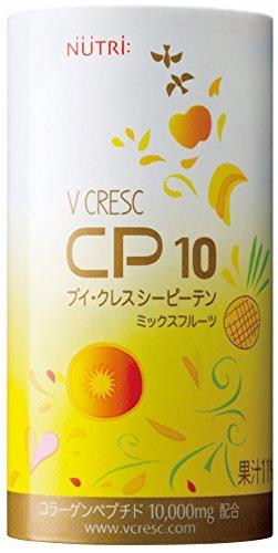 ニュートリー ブイ・クレスCP10 ミックスフルーツ味 125ml 30本入/箱 栄養補給飲料 飲むサプリメント