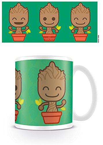 Les Gardiens de la Galaxie 2 MG23750 Guardians of The Galaxy (Baby Groot) Mug, Céramique, Multicolore, 11oz/315ml