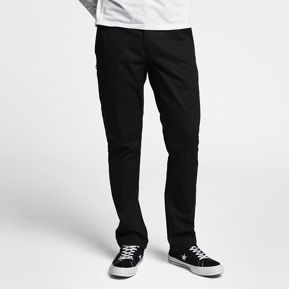 Converse Men's Cotton Coaches Chino Pants Black