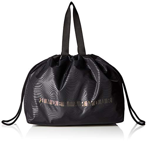 Under Armour Mega Tote, Borsone Donna, Nero (Black/Black/Metallic Silver), Taglia Unica