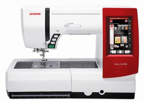 Janome Memory Craft MC 9900 Nähmaschine und Stickmaschine