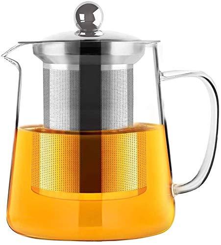 Bouilloire induction Théière de bureau Théière Verre Fil Fil Fil Fil Fil Ménage Tea Tea Maker Liner Simple Tea Cup Extérieur WHLONG (Size : 750ml)