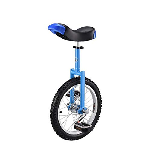 XYSQ Einrad Hochfeste Manganstahl Gabel, Verstellbarer Sitz, Aluminiumlegierung Buckle, 16-Zoll-18-Zoll-20-Zoll-Leak-proof Reifen-Rad-Reiten Outdoor Sport Fitness-Übungs-Gesundheit