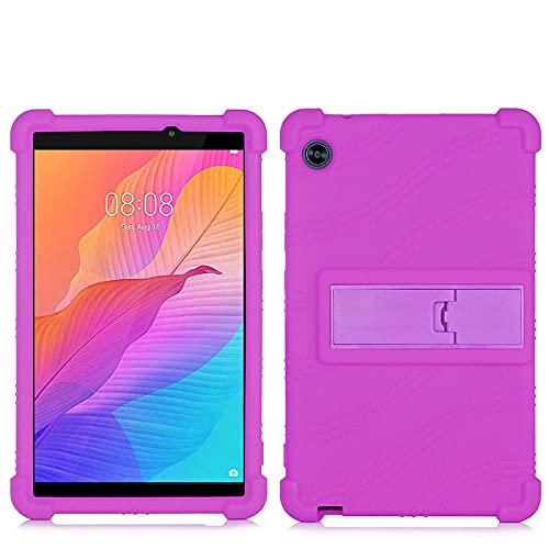 para Huawei 2020 Nuevo C3 8Inch BZD-W00 / AL00 Silicone Silufado a Prueba de Golpes a Prueba de Golpes a Prueba de Golpes para Huawei C3-2