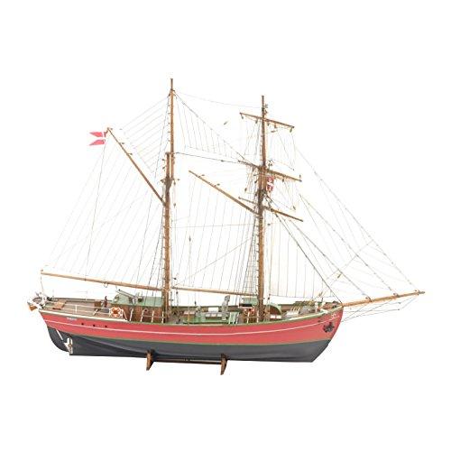 Billing Boats Facturación Barcos 01:50 Escala Kit Lilla Dan Edificio Modelo