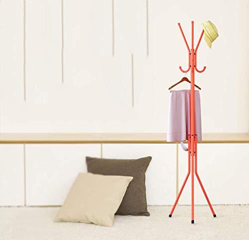 KONGZIR Coat Rack Coat Rack Hanger Hook up for Children Iron Coat Rack Bedroom Floor Simple Creative Vertical Hanger Rust Proof Bedroom Hangers Racks