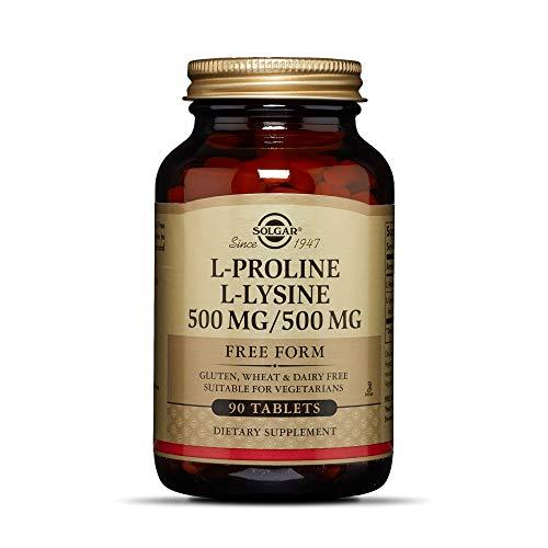 Solgar - L-Proline/L-Lysine (500/500 mg) 90 Tablets
