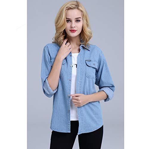 NZJK Jeansjas herfst dames jack dames vintage dames jeans jack dames veer locker jas windjas 4X