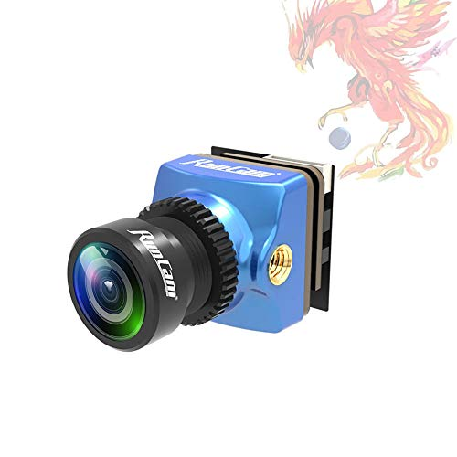 RunCam Phoenix 2 Nano FPV Camera 1000TVL FOV 155 Degree 1/2inch Super Global WDR Image Sensor Mini Cam with 2.1mm Lens 4:3 16:9 Switchable for RC FPV Racing Drone Quadcopter