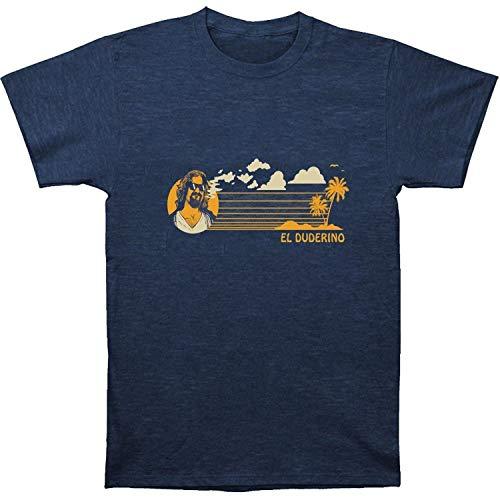 New The Big Lebowski EL Duderino Coast Cotton Casual Men T-Shirt