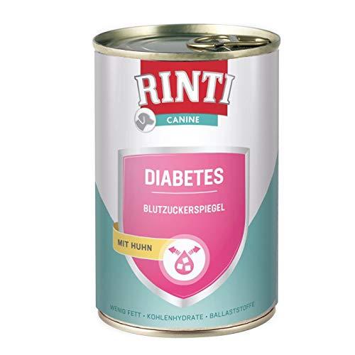 Finnern- Rinti 6 x Canine Diabetes a400g Zur Regulierung der Glucoseversorgung (Diabetes mellitus)