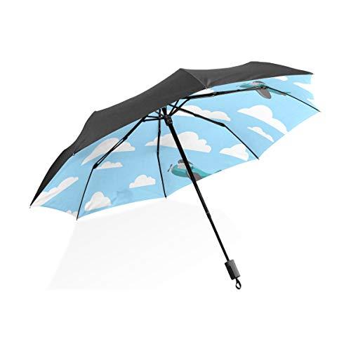 Paraguas de Viaje Niños Sexy Apasionado Hermoso Baile Tango Paraguas Plegable Compacto portátil Protección contra Rayos UV A Prueba de Viento para Mujer de Viaje al Aire Libre Paraguas para Hombres
