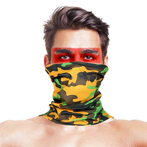 Maple Leaf Hunting Bandana Sjaals Polyester Anti UV Half gezichtsmasker Bandana Draag jachtaccessoires