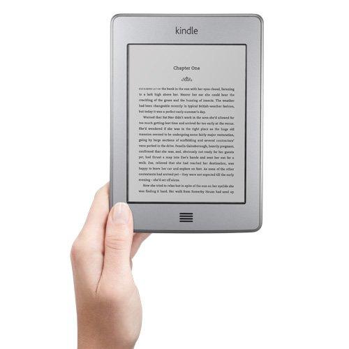 Kindle Touch: e-reader con wifi y pantalla táctil de tinta electrónica E Ink de 15 cm (6 pulgadas)