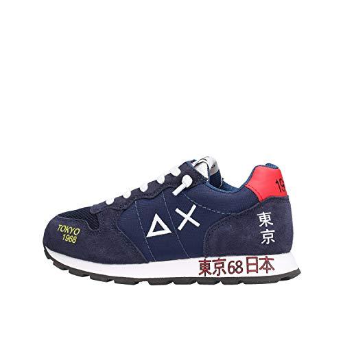 SUN 68 Tom Japan Print Z30303-07 - Zapatillas deportivas para niño, color azul turquesa 38