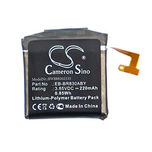 vhbw Batería Recargable reemplaza Samsung EB-BR830ABY, GH43-04968A para smartwatch, Reloj de Actividad (220 mAh, 3,85 V, polímero de Litio)