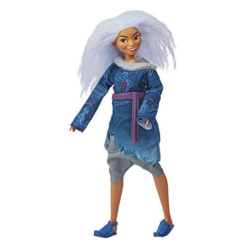 Hasbro E9569 Disney Sisu als Mensch Modepuppe mit lavendelfarbenem Haar und Kleidung zu Disneys Raya und der letzte Drache, Spielzeug für Kids ab 3 Jahren
