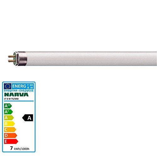Leuchtstofflampe 6 Watt / 640 neutralweiss - Narva