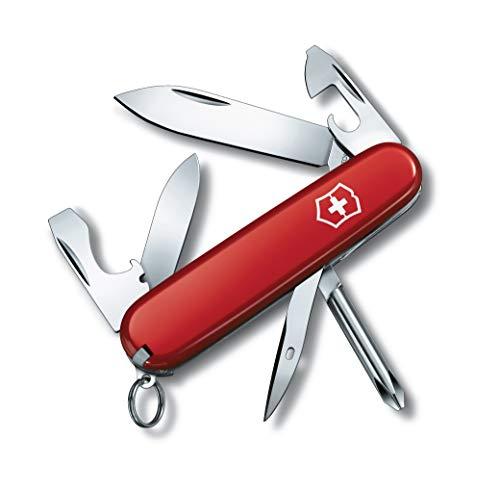 Victorinox Taschenmesser Tinker Klein (12 Funktionen, Gr. Klinge, Phillips-Schraubendreher) rot
