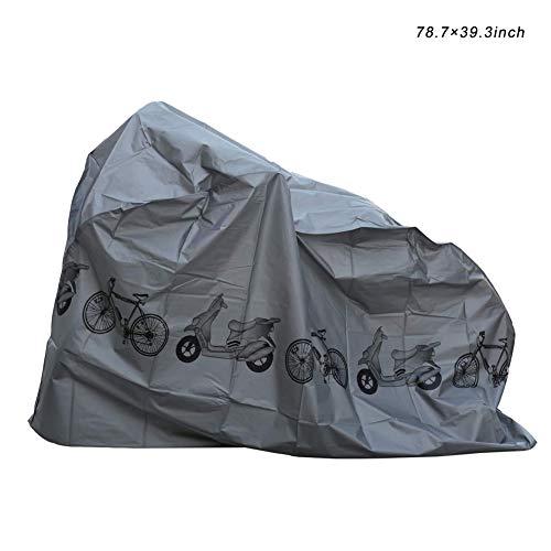 Hankyky Bike Cover wasserdicht Outdoor Fahrrad Abdeckung Stoff Regen Sonne UV Staub Wind Proof für Mountain Road