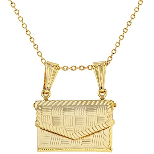 In Season Jewelry - Halskette Geldbeutel Handtaschen Gebet Kasten Souvenir 48cm