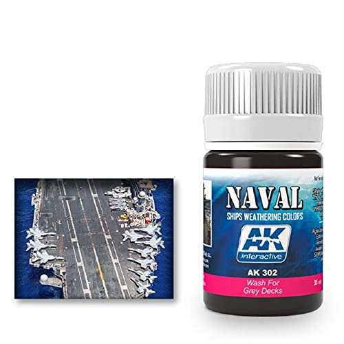 AK Interactive - Wash for Grey Decks AK00302