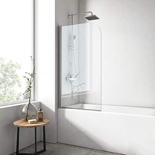 EMKE 120x140cm Duschtrennwand für...
