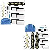 QUJJP Accesorios para aspiradoras Filtros de reemplazo Rodillo Pinceles Principales Paños de MOP Herramienta de Limpieza Compátiles con IKOHS NetBot S15 Robot Robot Aspirador de aspiradoras Filtros