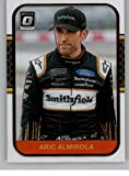 2020 Donruss Optic Racing #74 Aric Almirola Smithfield Foods/Stewart-Haas Racing/Ford Official Trading Card From Panini America