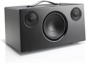 Audio Pro Addon C10 Compact High Fidelity WiFi Bluetooth Wireless Multi-Room Speakers Compatible with Alexa, Computers, Laptop, Desktop, Cellphone & Tablet - Black