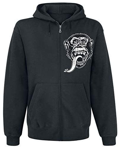 Officially Licensed Merchandise GMG - Dallas Texas Zipped Hoodie (Black), Large