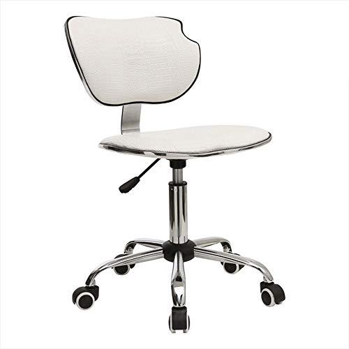 Bar stoel lift, rugdraaistoel startpagina / vergaderruimte bureaustoel / koffie / recepten / casseerhocker / zwart-wit, high-end modestoel 40x44,5x41-53 cm