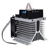 【regalo de Navidad】Módulo trifásico de operación simple, motor seguro, arranque suave, cintas transportadoras duraderas Molinos de bolas Bombas para ventiladores(Module + radiator)