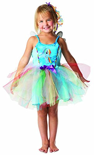 Rubie's-déguisement officiel - My Little Pony - Déguisement Costume Arc en Ciel My Little Pony - Taille S- I-881840S