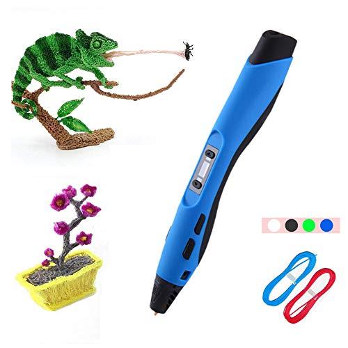 MIAO 3D Printing - Intelligent 3D Printer Ontwerp Pen - 8-voudig verstelbaar - met PCL filament x2