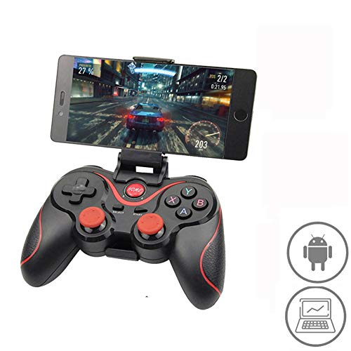 Radiancy Inc Bluetooth de Dispositivo de Juego, Bluetooth Wireless Palanca de Mando del Joystick Soporte Android / T3 / Móvil/PC/Tablet Gamepad