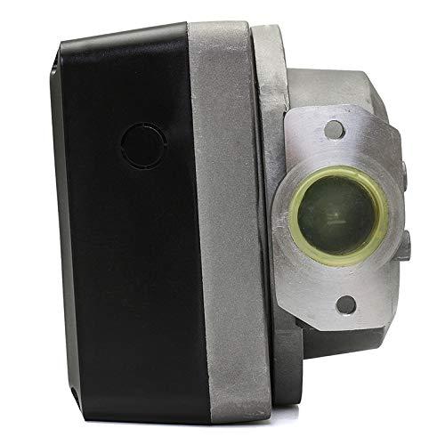 Nrpfell 1 Unids Fm-120 4 Medidor Digital de Flujo de Aceite de Gasolina de Gasolina Cuatro Digital para Contador de Medidor de Flujo de Aceite de Combustible