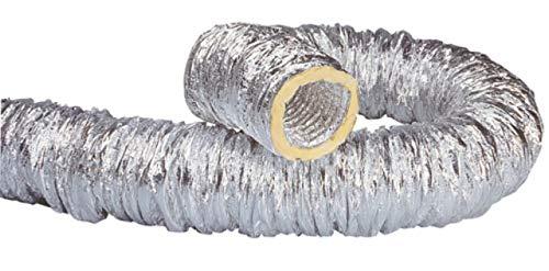 Unelvent 823615 - Tubo flexible aislado (aluminio, diámetro 80 mm, longitud 10 m)