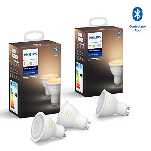 Philips Hue White Ambience GU10 Lampe + White Ambience GU10 Lampe