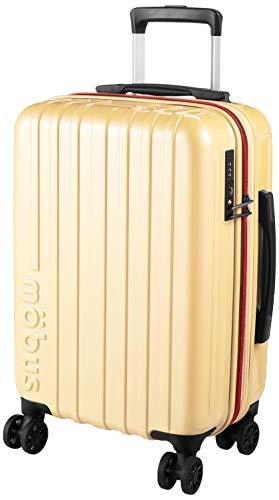 [エー・エル・アイ] スーツケース mobus ハードキャリー 拡張シリーズ 54.5 cm アイボリー