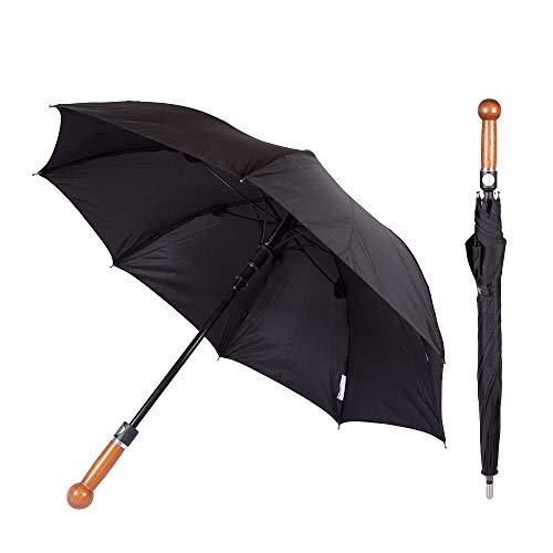 Unzerbrechlicher Security Regenschirm (Unbreakable Umbrella) | Legale Selbstverteidigung | Selbstschutz unterwegs für Frauen und Männer | Mit gratis Videokurs | Einfach anzuwenden, höchst wirksam